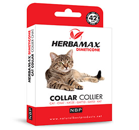 Herba Max Dimeticone Collier - Chat 42 cm