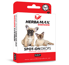 Herba Max Dimeticone - Spot On Chien & Chat